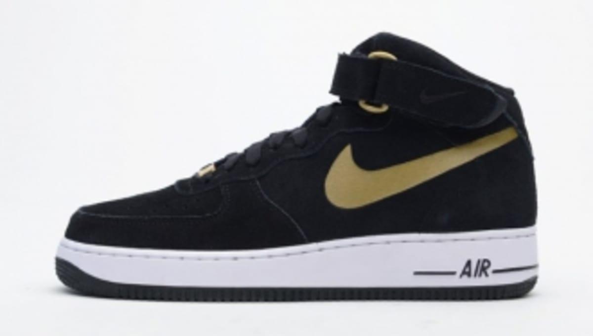 e04da089093b Nike Air Force 1 Mid - Black Gold