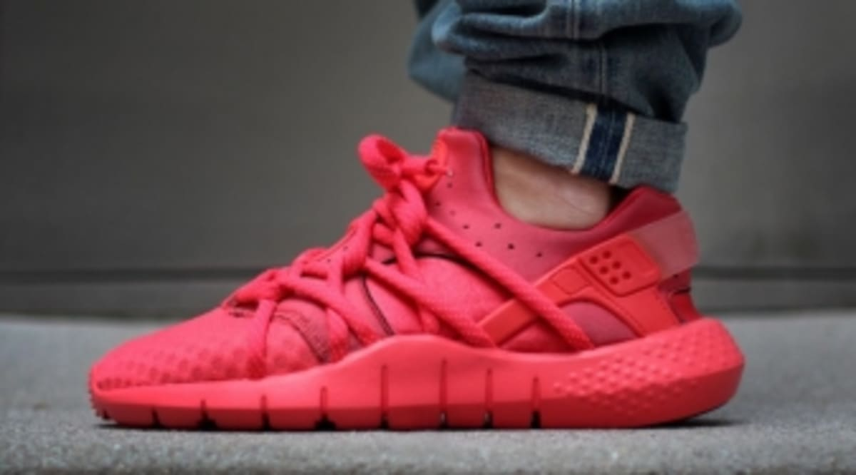 cheap for discount 6c1a3 31418 The Nike Air Huarache NM Goes All-Red   Sole Collector