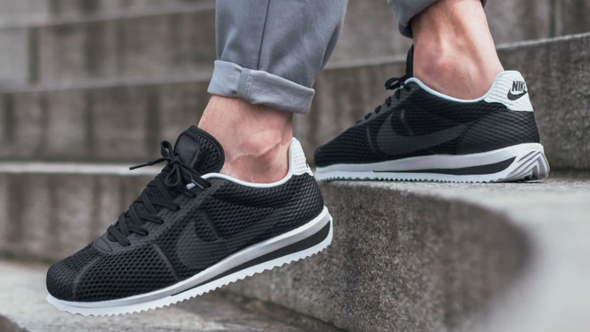 new styles fdbda e6fc2 NIke Cortez Ultra Breeze Black   Sole Collector