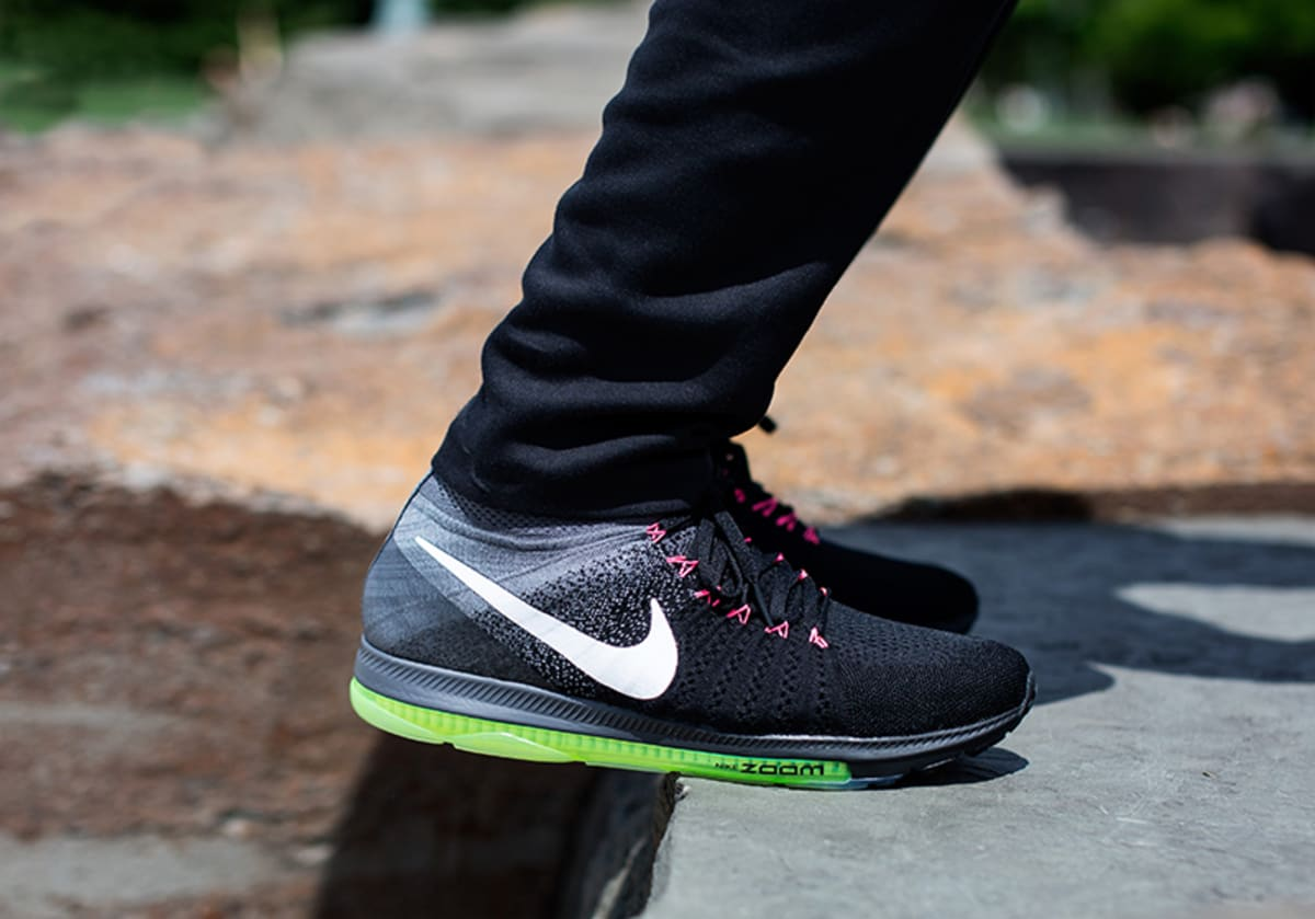 Nike Zoom All Out Flyknit Black Cool Grey Early Release ...