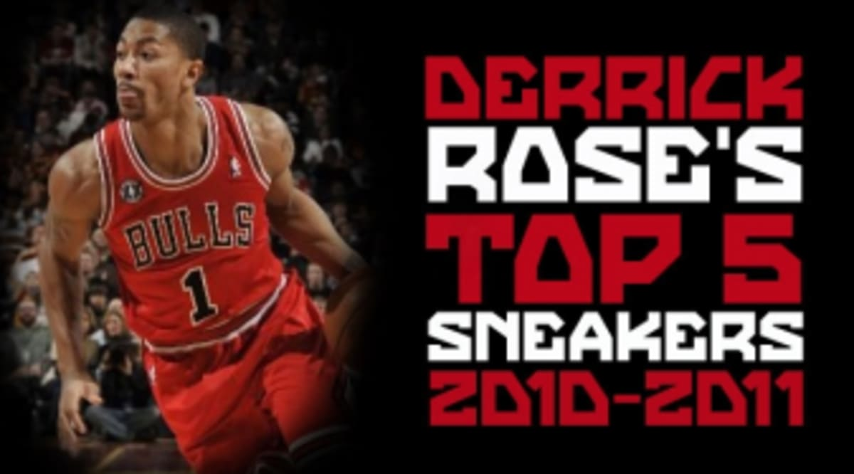 d92f9d3b52ac38 List  Em  Top 5 Sneakers Worn By Derrick Rose This Season