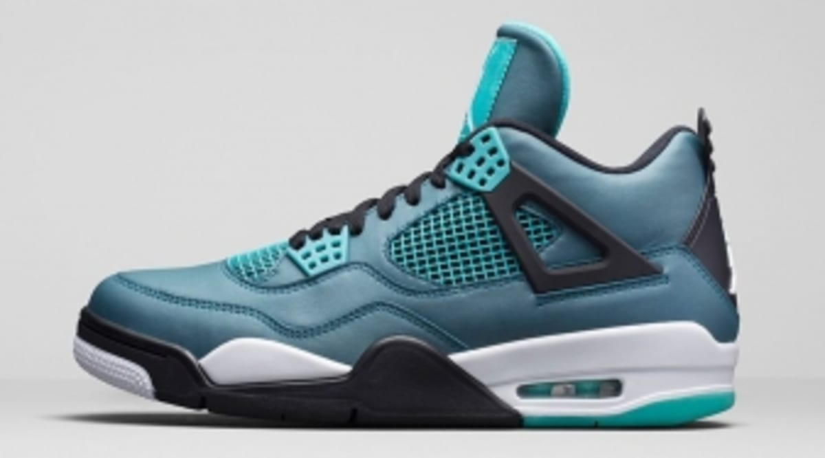 timeless design a16c5 0ad48 How to Buy the  Teal  Air Jordan 4 on NikeStore   Sole Collector