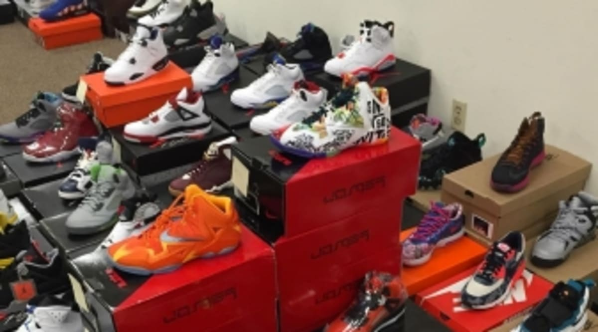 A Sneaker Shop Bought a Huge Collection for $92,000