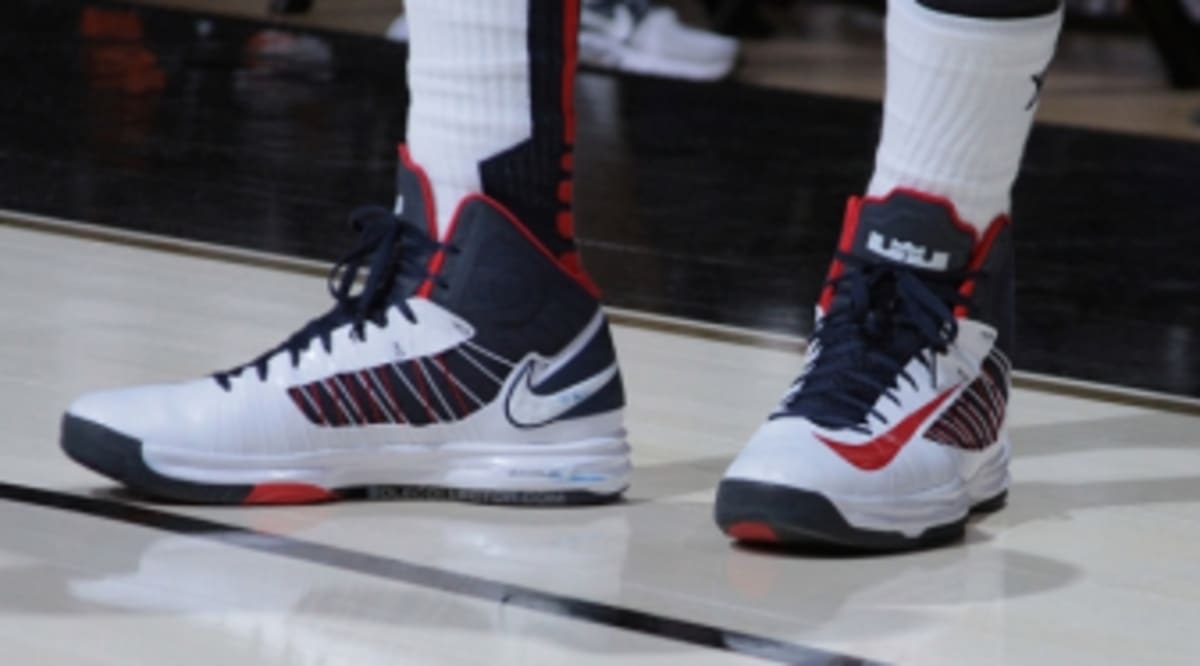 brand new 6ea43 3c187 Sneaker Watch    LeBron James At Team USA  WBF Practice   Sole Collector