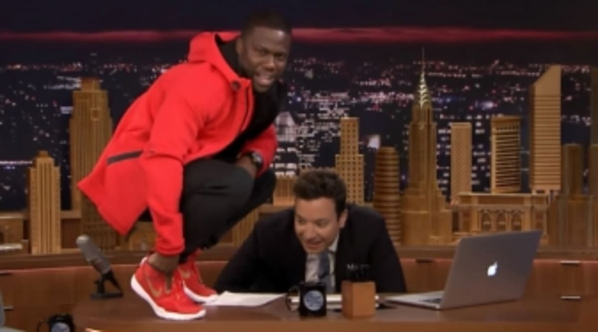 db7f5bf513f5 Nike Made a Signature Shoe for Kevin Hart