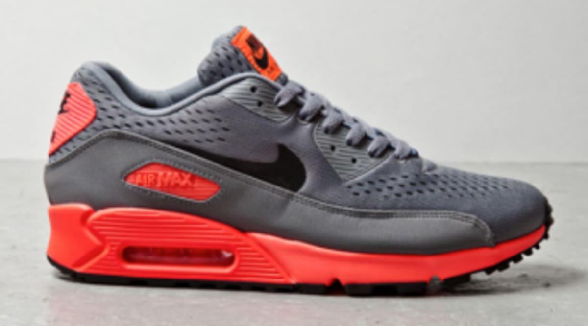 newest d7b10 9f31e Nike Air Max 90 EM - Grey   Orange
