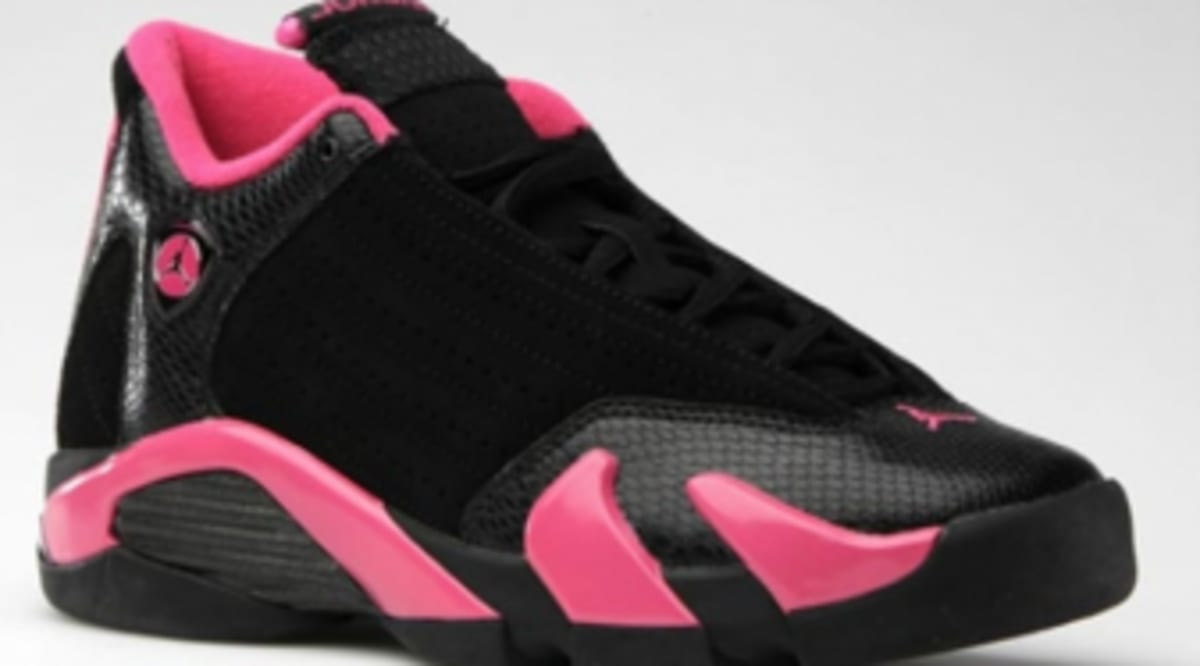 f1b7977ca6e3 Air Jordan XIV Retro Girls - Black Desert Pink - Official Images ...