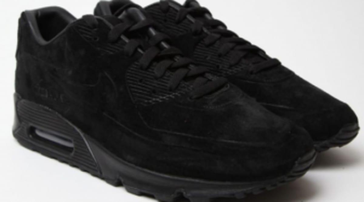 18162e7c085ae Nike Air Max 90 VT - Black Nubuck