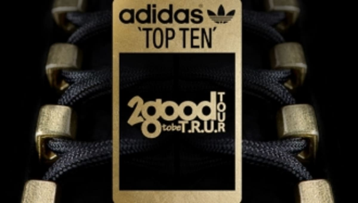 adidas Originals Top Ten '2 Good 2 Be T.R.U.' Teaser