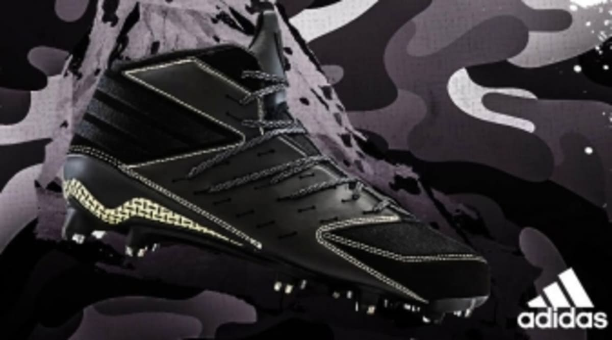5850b8ee8ab75 adidas Caps Off the Black Ops Cleat Collection with a Nod to Navy SEALs