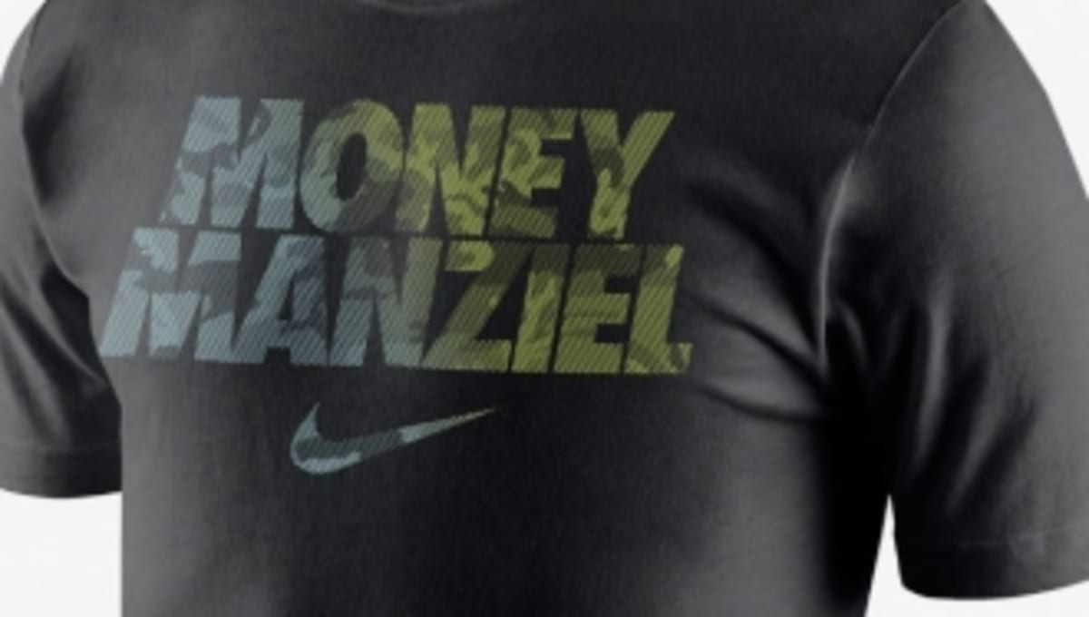 Money manziel t shirt releases at nikestore sole collector for T shirt printing brandon fl
