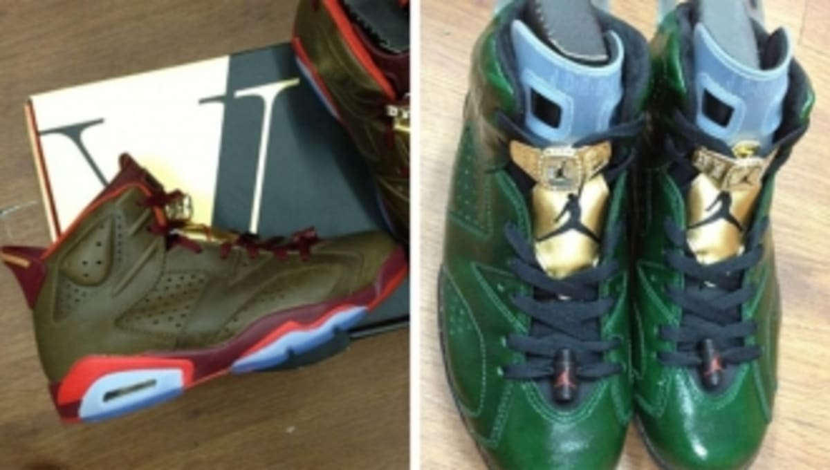 low priced 72253 63f7b Latest  Cigar     Champagne  Air Jordan 6 Photos   Sole Collector