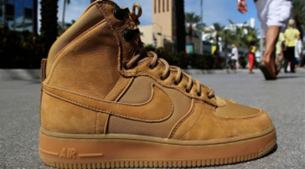 online store 3dd31 e32bd Nike Air Force 1 High DCN Military Boot - Golden Harvest | Sole ...