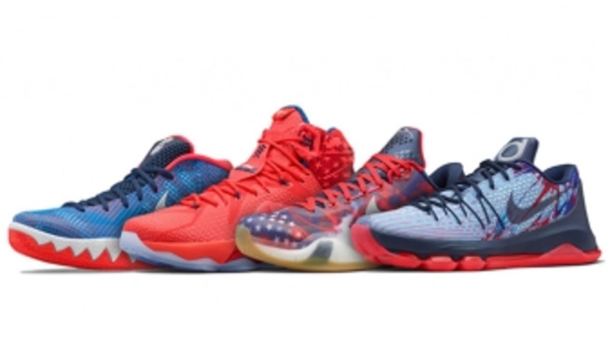 newest c810e 251d7 This Is How Nike Basketball Celebrates the 4th of July   Sole Collector