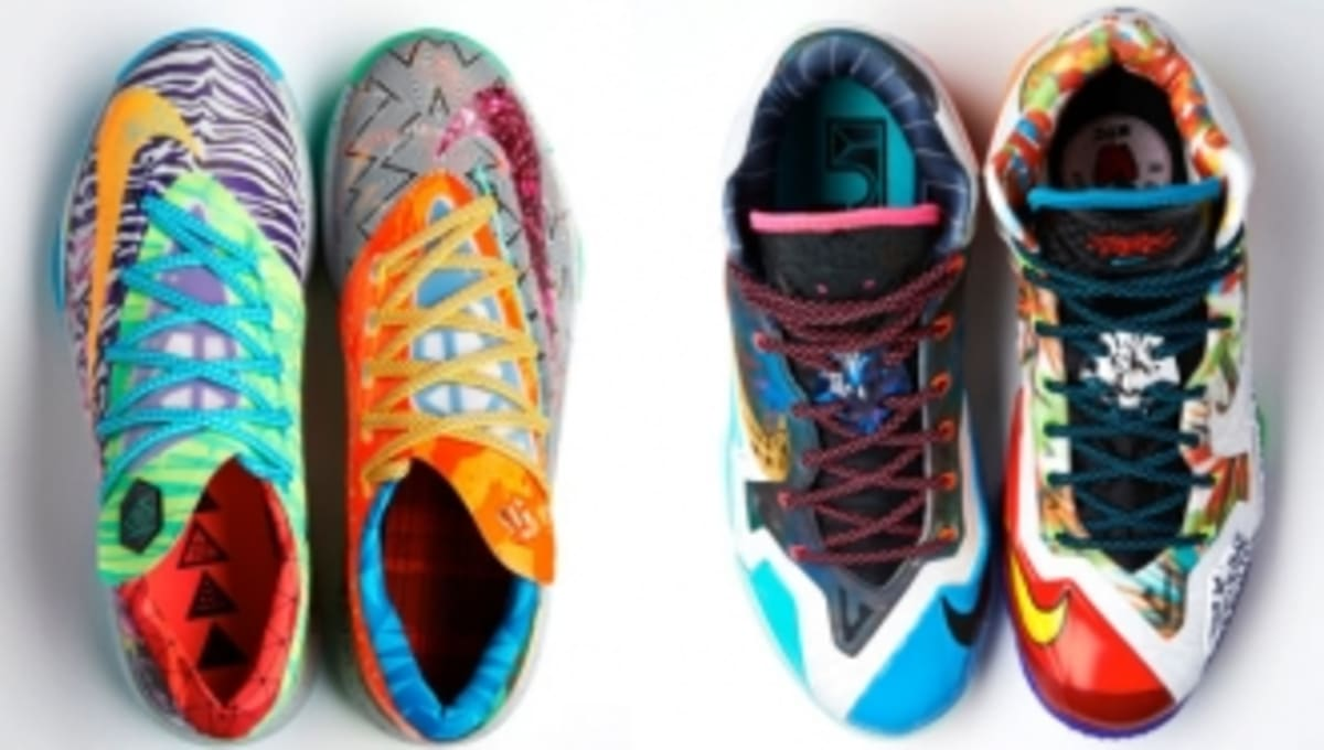 Nike LeBron 11 and KD 6 'What The' Pack