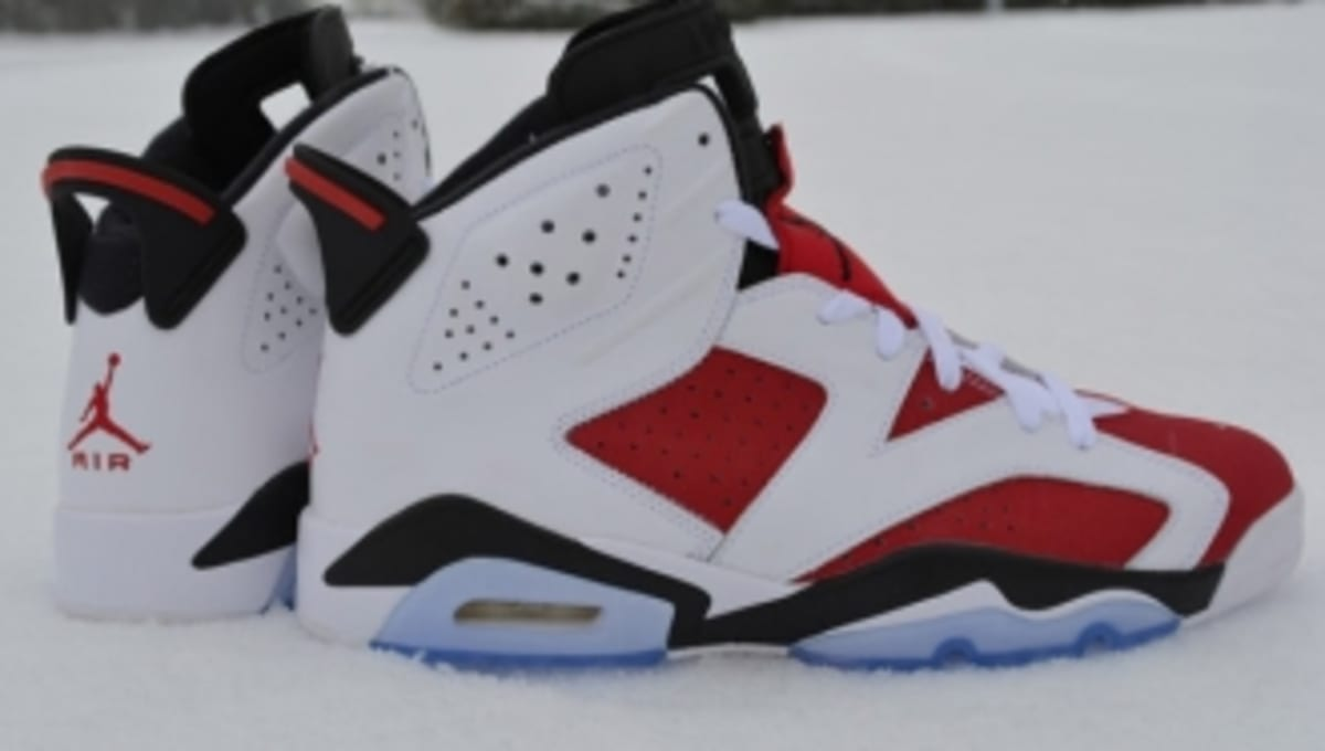the latest 64052 0e142 Air Jordan 6 Retro - Carmine