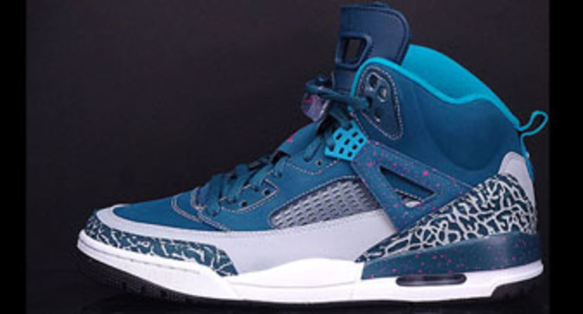 the latest 2ef5f dada0 Release Date  Jordan Spiz ike  Space Blue    Sole Collector