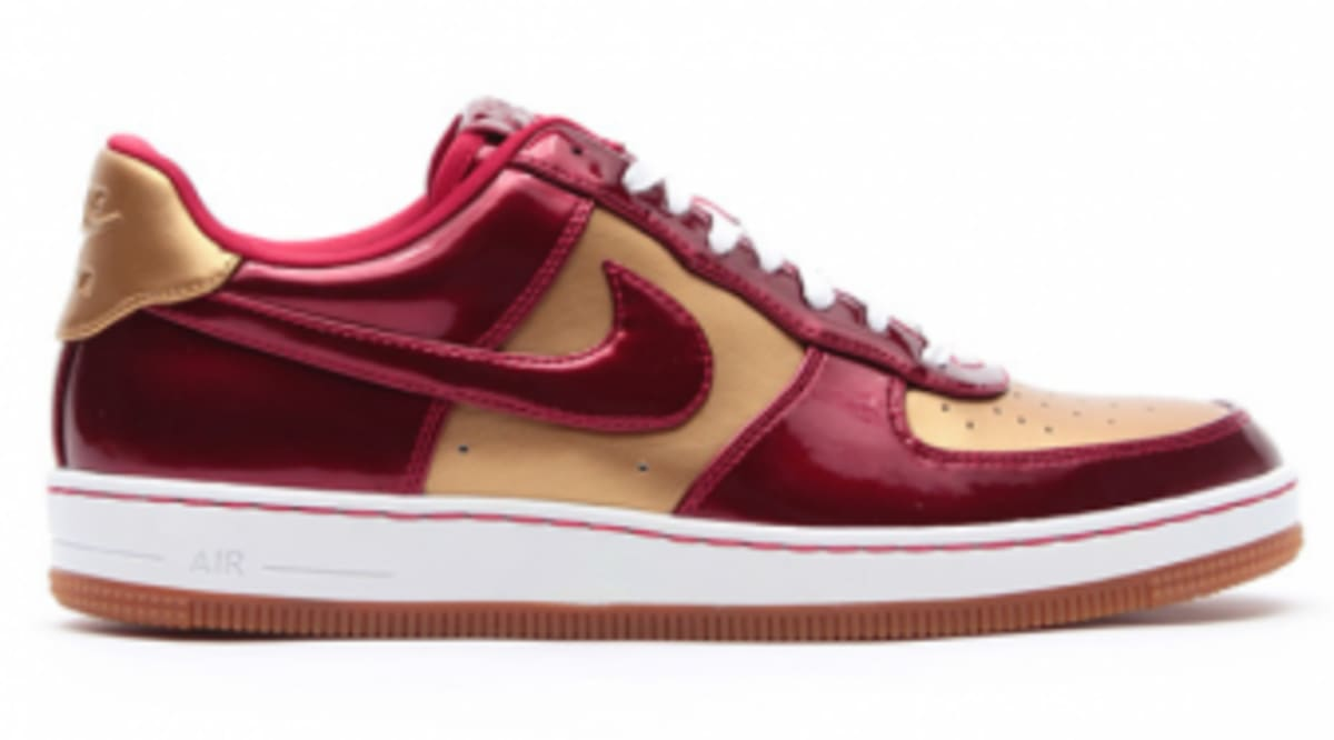 huge selection of f6d95 da73e Nike Air Force 1 Downtown LTH QS - Flight Gold   Varsity Red   Sole  Collector