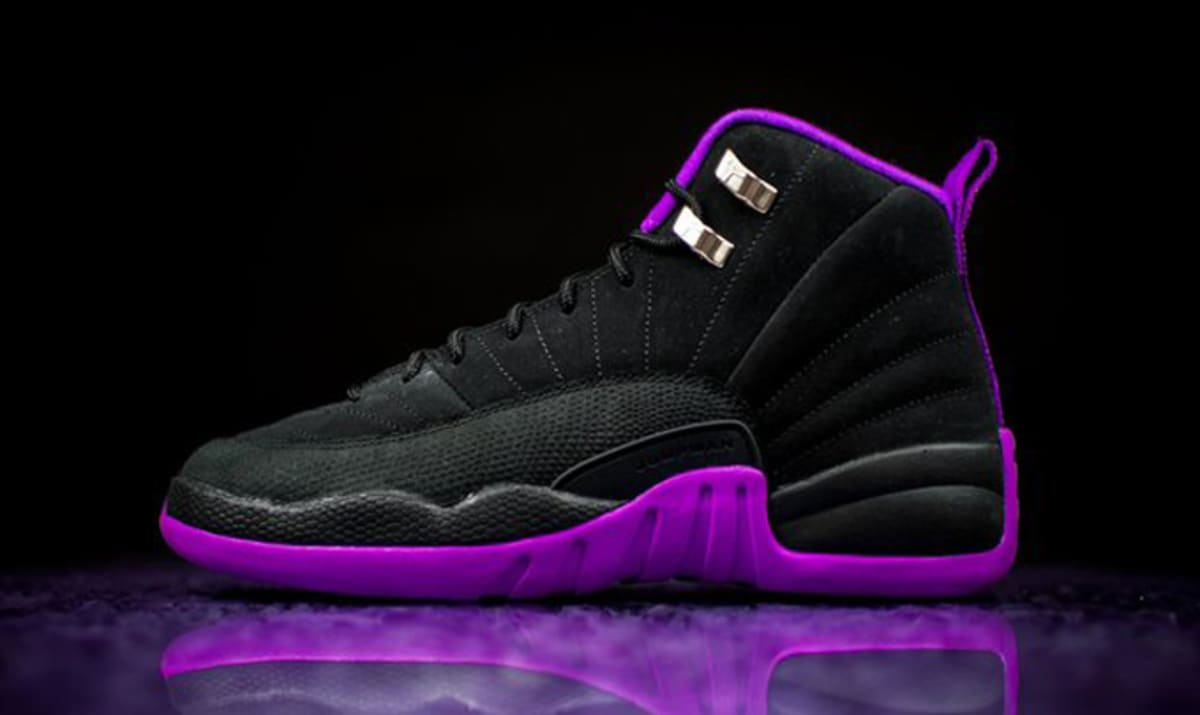 Purple Black Jordan 12 Sole Collector