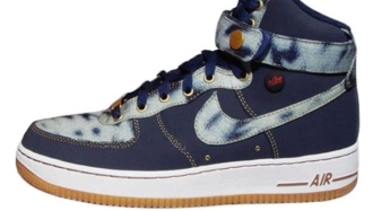 Nike Air Force 1 High - Acid Wash Denim  17b0f57140