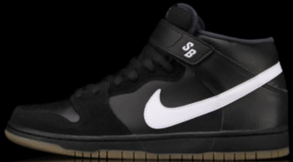 c6ca46f9a482 Nike SB Dunk Mid Pro - Black   White   Gum