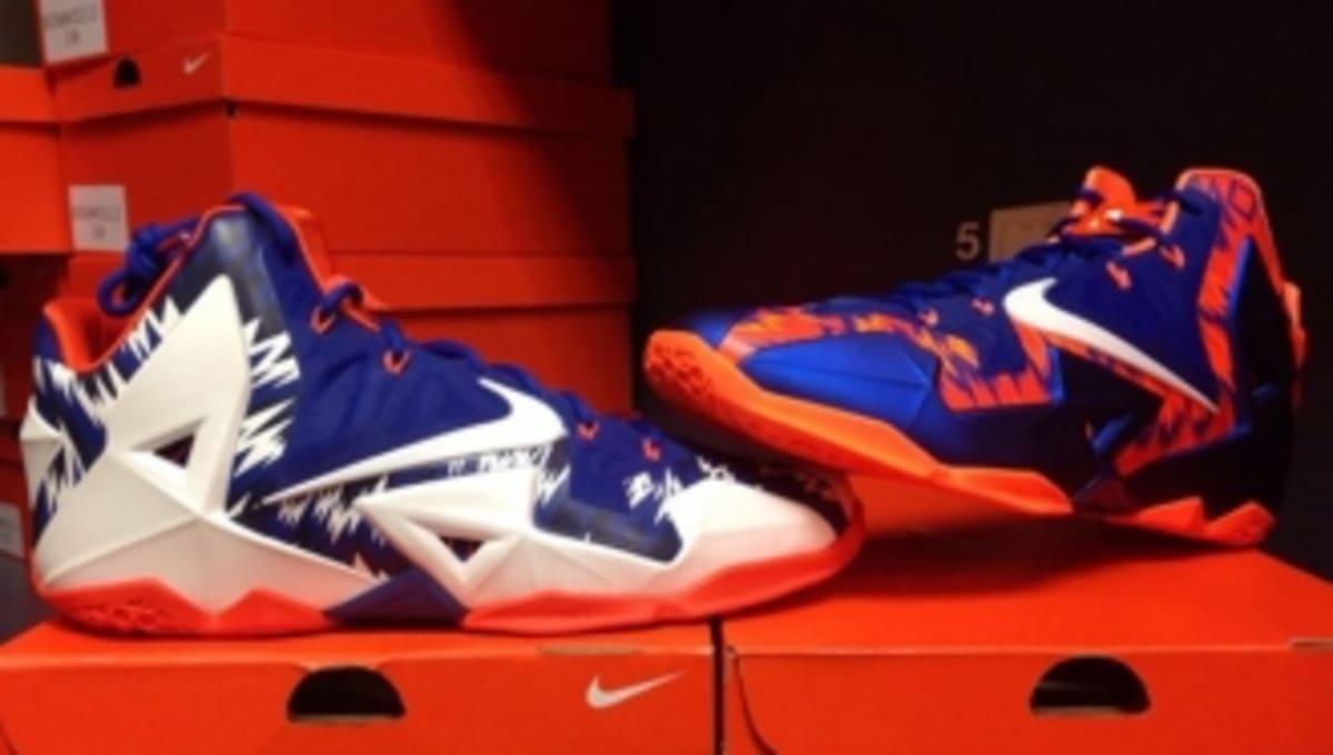 36cf4a19ba8e Nike LeBron XI - Florida Gators PEs