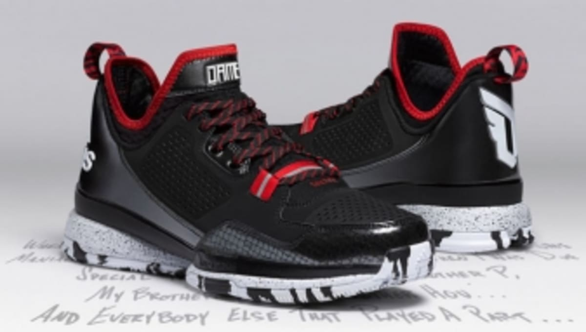 purchase cheap 4bd50 cb207 adidas D Lillard 1 Officially Unveiled   Sole Collector