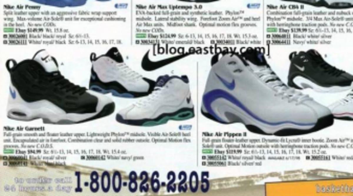 6bc8f5b49e10ca Eastbay Memory Lane  Nike Basketball May 1998