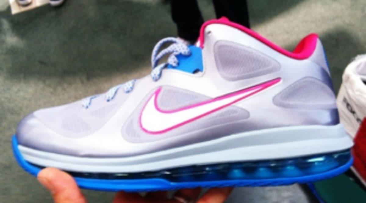 Nike LeBron 9 Low WBF - Fireberry  f10a1c209b