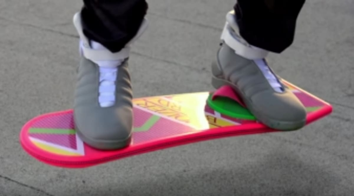 Back To The Future Shoes Nike Commercial