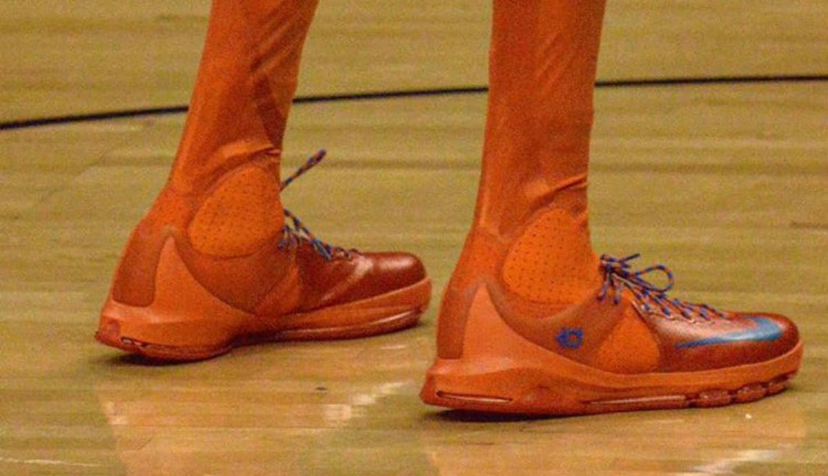Kevin Durant Wearing the Nike KD 8 Elite High | Sole Collector