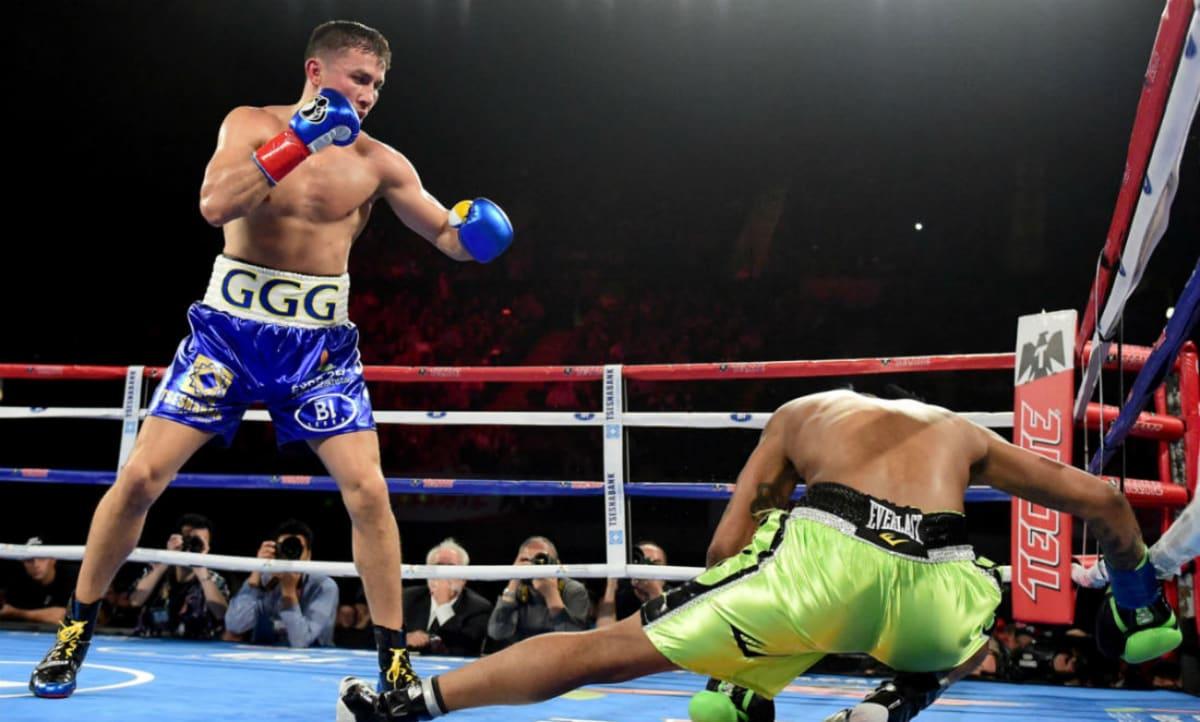 uk availability db713 c1547 Gennady Golovkin Wins By Knockout in Jordan Brand Debut
