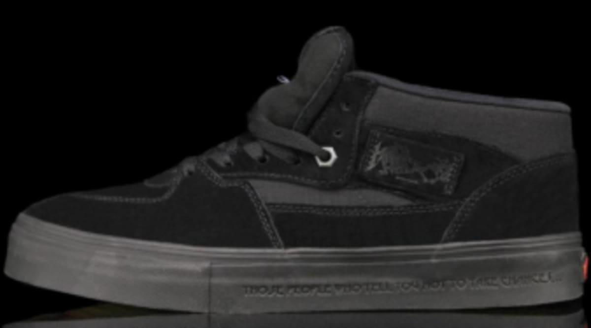 b36a747272 Metallica x Vans Half Cab Pro - Black   Black - New Images