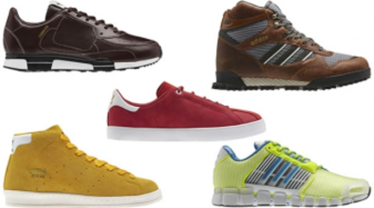 0918d09095b3e adidas Originals by David Beckham - Fall Winter 2012 Footwear Collection