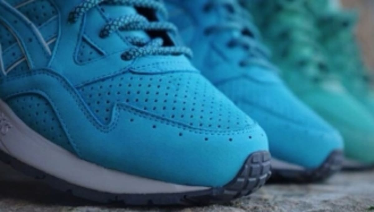 Ronnie Fieg Previews Mint Leaf And Cove Asics Gel Lyte
