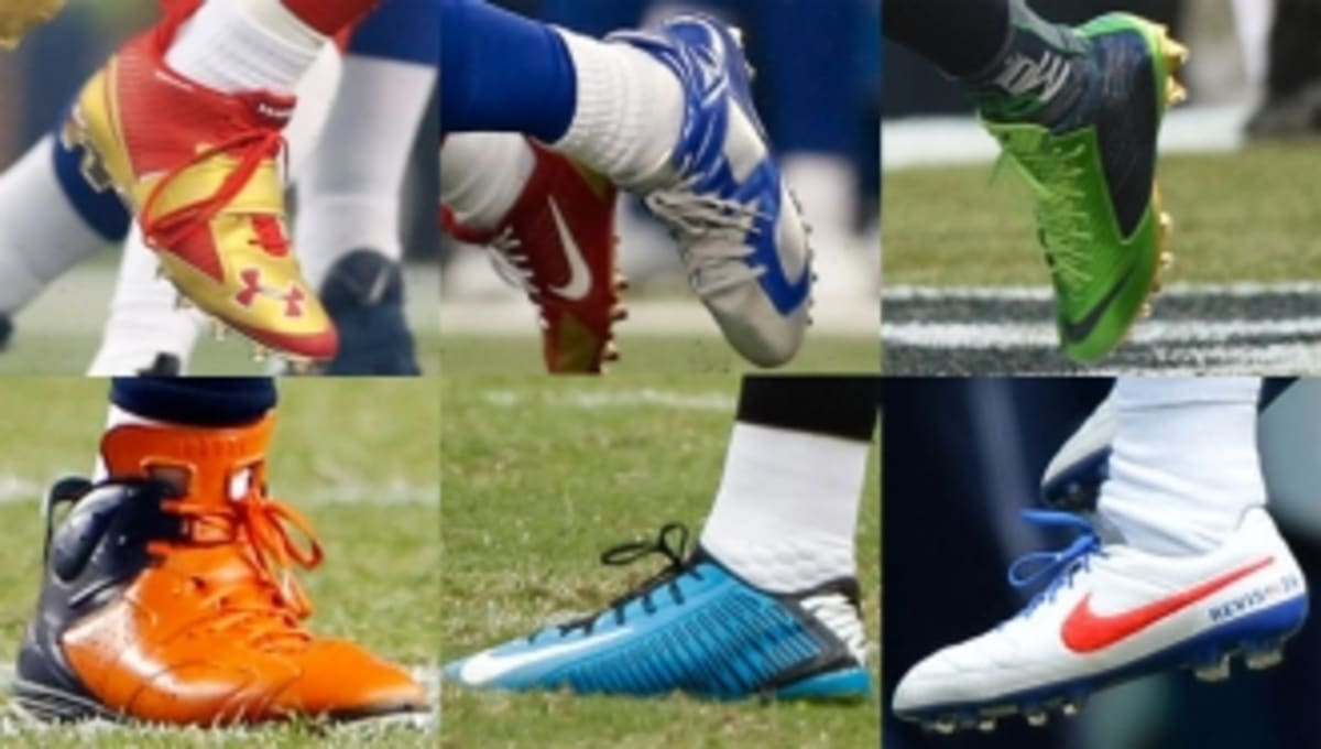 ceb12afce NFL Watch  The Best Cleats Worn on the Field During Week 1