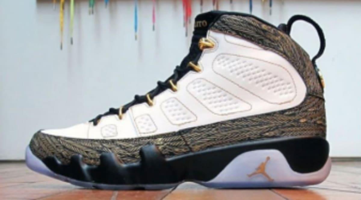 sports shoes d5223 b6d04 Air Jordan Retro 9 Doernbecher   Sole Collector