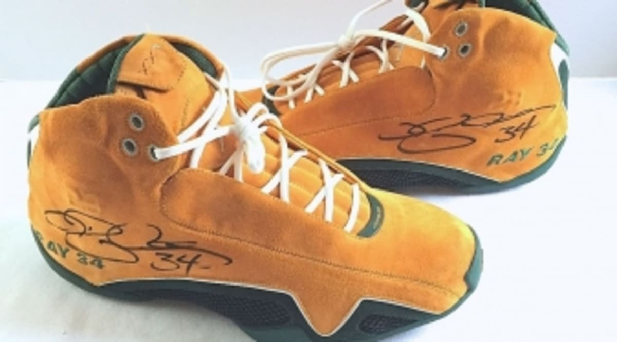 free shipping 67250 ca55b Ray Allen's Rarest Air Jordan Exclusive Just Hit the Market | Sole Collector