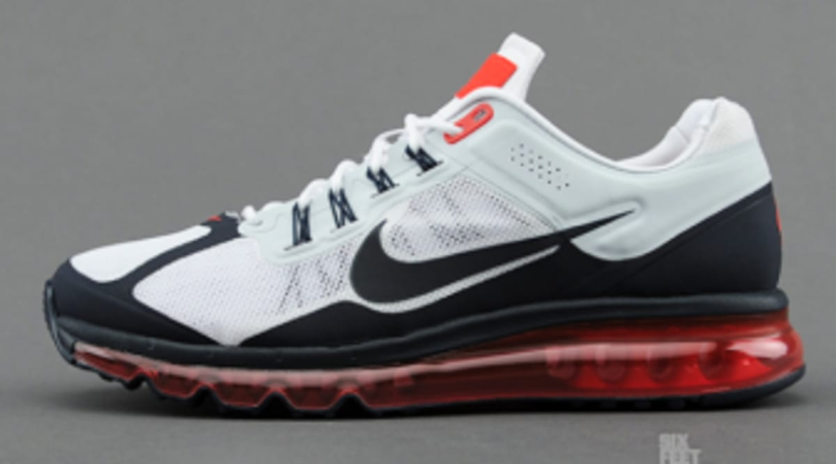 f46ffd8d195b ... spain nike air max 2013 ext white dark obsidian university red sole  collector 085c7 5688e