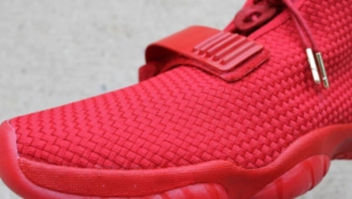 ace00c8d4 Air Jordan Future x Nike Air Yeezy 2  Red October  by Aristat26 ...
