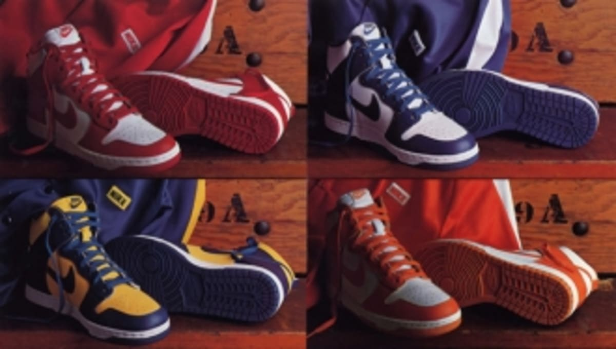 3e2ecc058a59 A Brief History of The  Be True To Your School  Nike Dunk Series ...