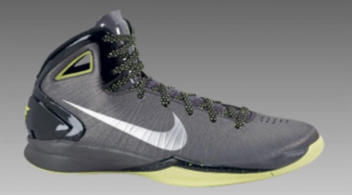 ab50f594d5c Now Available  Nike Hyperdunk 2010 - Metallic Silver Grey-Volt ...