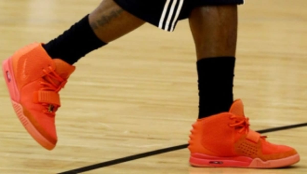 LeBron James at Miami Heat Shootaround in the 'Red October ...