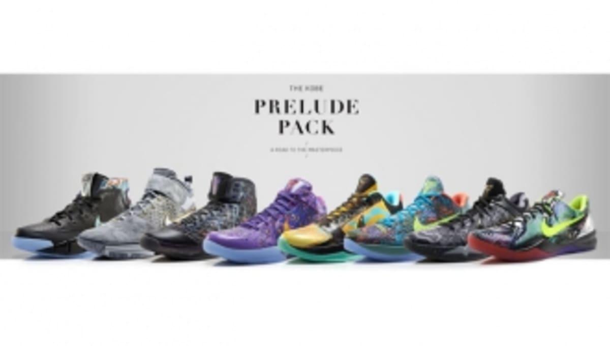 sale retailer e3f45 b5dd0 The Nike Kobe Prelude Pack   Sole Collector