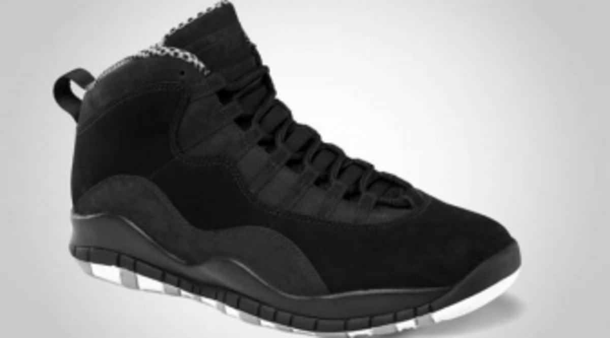 best website 0e62b 2c2d9 Air Jordan 10 Retro - Black White-Stealth - Official Images   Sole Collector