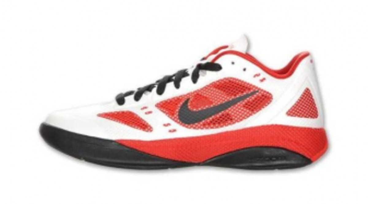 Nike Zoom Hyperfuse 2011 Low - White/Sport Red-Black ...