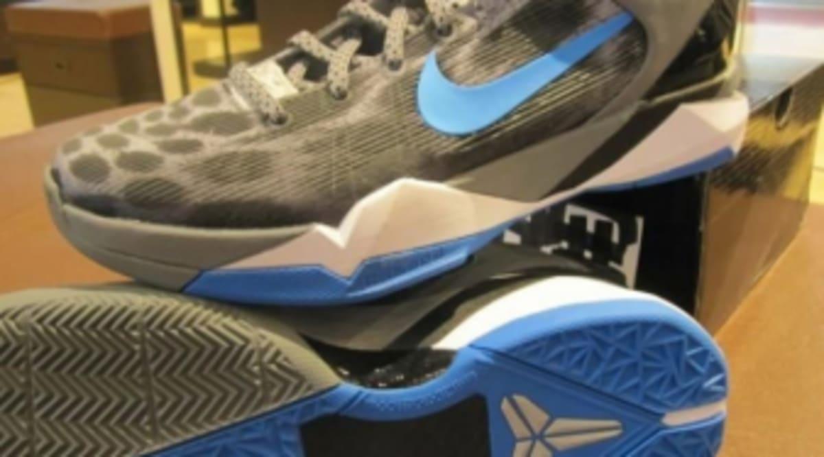 e82462de7757 Nike Zoom Kobe VII - Cheetah - Wolf Grey Photo Blue