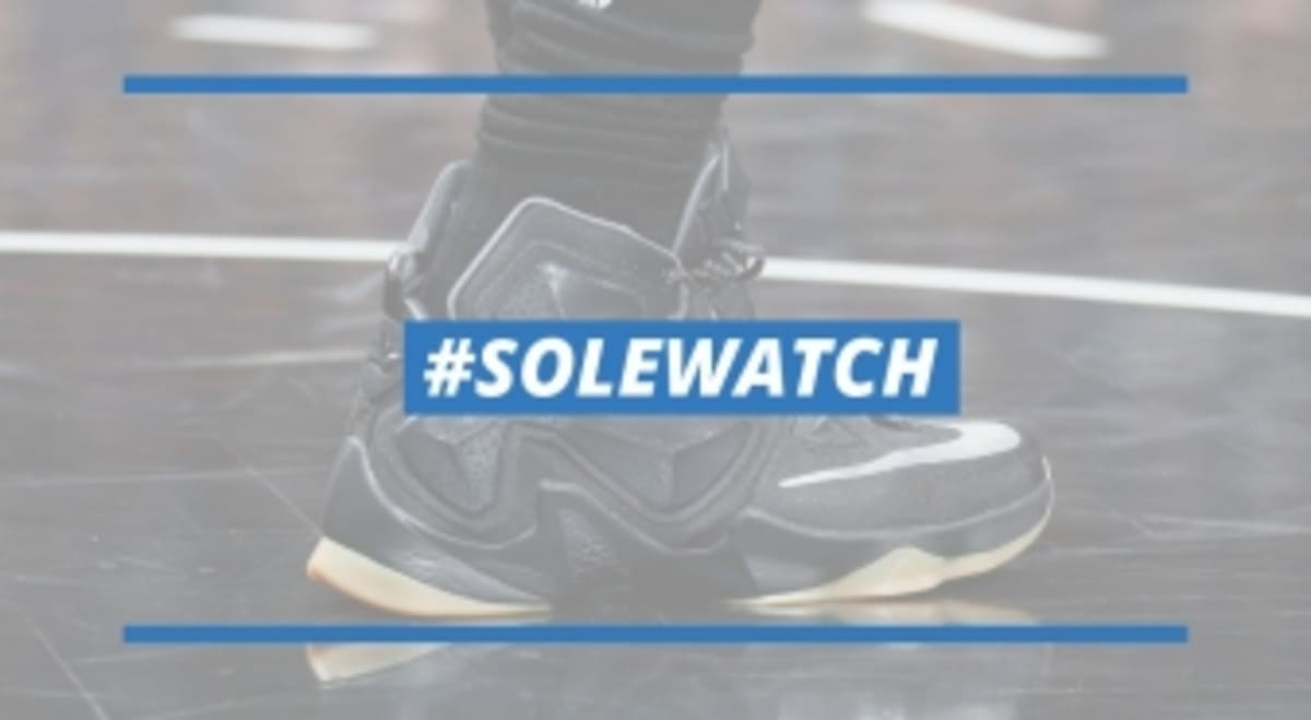 afd62c86052 SoleWatch  LeBron James Has His Own  Black Lion  Nike LeBron 13 ...