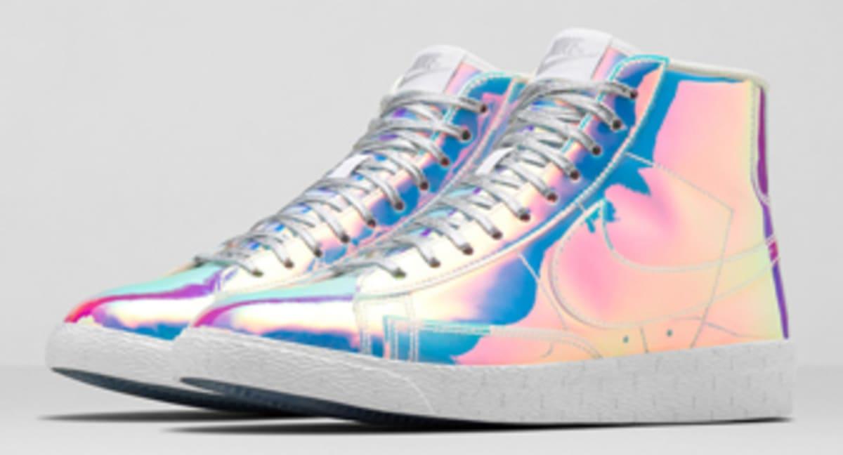 buy online d4ec5 cd0ce Women s Nike Blazer Mid  Iridescent