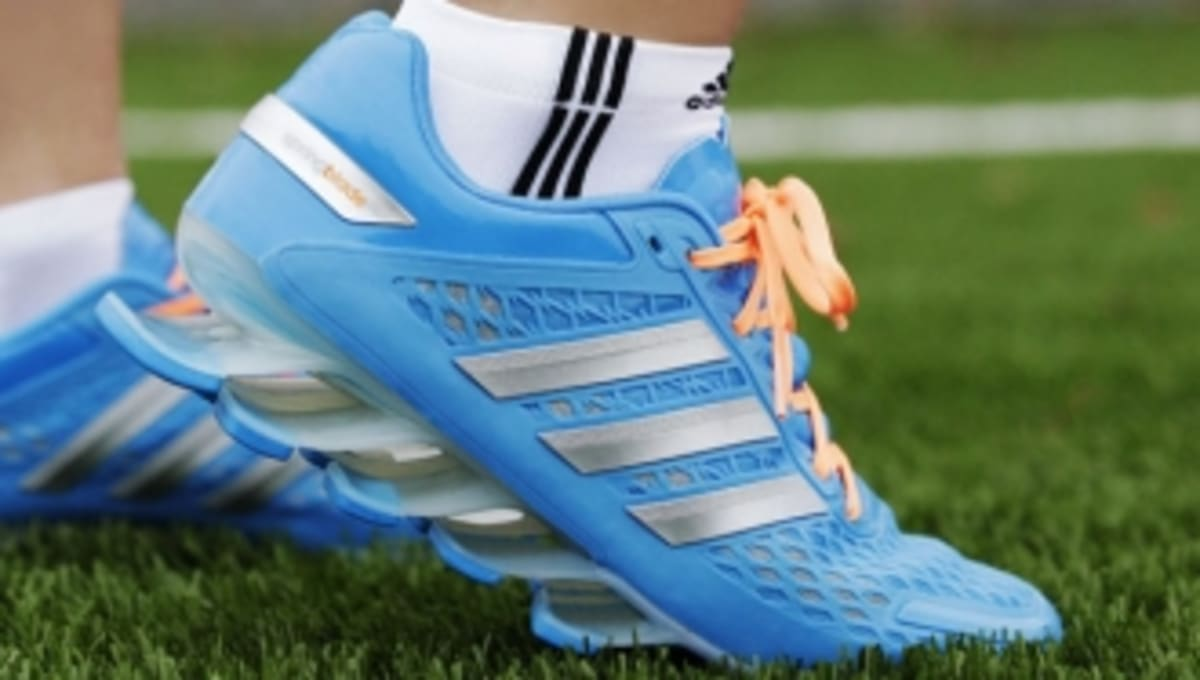 Adidas Springblade Razor Running Shoes Blue Black Mens Classic Colorway
